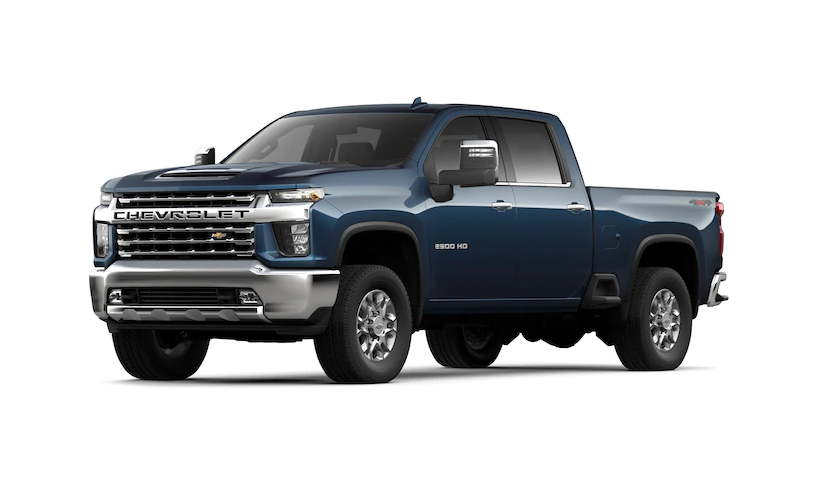 2020 Chevy Silverado HD Header