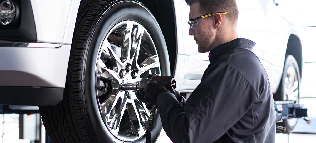 Get a chevrolet Tire Rotation